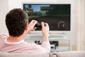 Video games can keep kids (and husbands) entertained on rainy days and weekends.