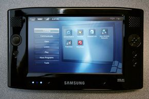 Samsung Q1 Ultra-mobile PC. See more computer pictures.