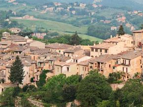 Umbria is one of the smallest regions of Italy -- but it doesn't skimp in the wine department. See more wine pictures. 