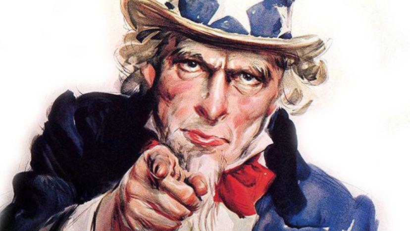 Uncle Sam, history