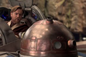 R4-G9 was present for many pivotal moments in the saga, but can we talk about that gorgeous dome?