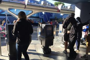 GNK droids are SO unappreciated that they're relegated to issuing Fastpasses in Disneyland.