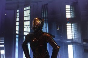 """The RA-7 droid isn't as well-known as some others in the """"Star Wars"""" universe, but there have been action figure versions just the same."""