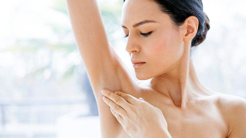 underarm cyst