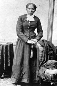 Harriet Tubman, an escaped slave herself, led many others out of the South.