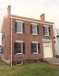 The M'Clintock House in Waterloo, N.Y., was a stop on the Underground Railroad.