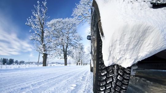 Should you underinflate your tires in winter?