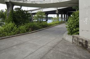 Yes, they're a structure, but that doesn't mean that underpasses are a good place to hide out during a tornado.