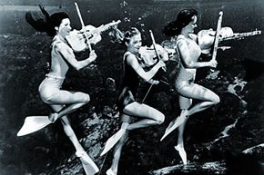 Live underwater music? Too expensive.