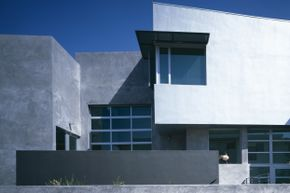 Would Edison approve of this modern day concrete house located in Marina del Rey, Calif.?