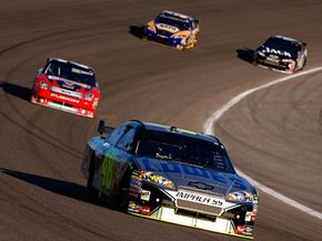 The US Auto Club governs open-wheel auto racing, sanctioning rules, car design and championship races. See more NASCAR pictures.