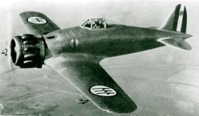 Despite possessing capable combat aircraft, such as this Macchi C.200 fighter, the Italian air force was easily overtaken by the British on many occasions.