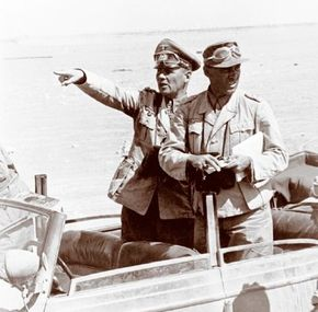 """Nazi General Erwin Rommel -- """"the Desert Fox"""" -- was widely respected both by his German troops and by his Allied opponents. See more pictures of WW II."""