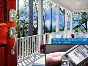 The Schlage LiNK uses your home network to keep you connected with your home's locks and other devices.