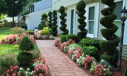 Don't go overboard in your yard. See some pictures of famous gardens.
