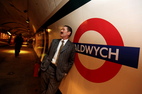 Aldwych station -- part of the London Underground -- has been closed since the '90s. It's hardly abandoned, though: Restored to its wartime look, it's occasionally the site of tours.