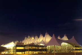Far below the circus-tent canopies of Denver International Airport lies a network of tunnels -- restricted to all but a few people.