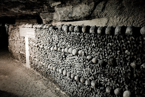 The Paris Catacombs feature legal opportunities for urban explorers.
