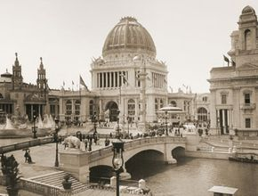 The Administration Building at the 1893 World's Columbian Exposition in Chicago, where Daniel Hudson Burnham's City Beautiful movement made its debut.
