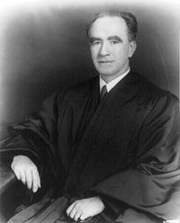 Courtesy of the Library of Congres Justice Frank Murphy of the U.S. Supreme Court