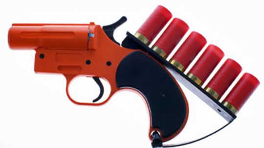 How to Use a Flare Gun