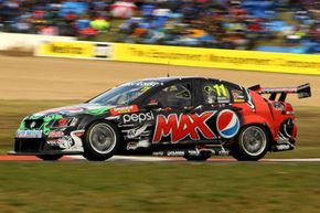 Greg Murphy drives the #11 Pepsi Max Crew Holden during the Bathurst 1000, which is round 10 of the V8 Supercars Championship Series at Mount Panorama on Oct. 9, 2011 in Bathurst, Australia.