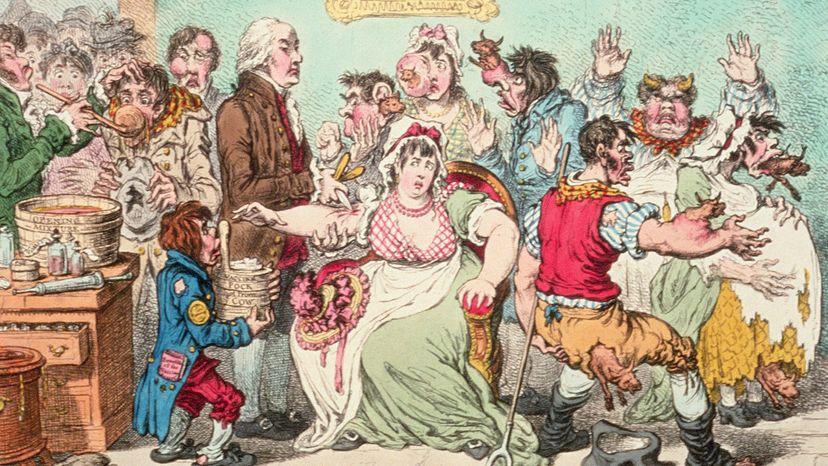 smallpox cartoon