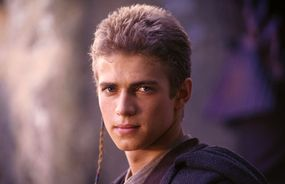 As a young man Anakin was already a legend.