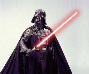 These days Darth Vader is kept alive by his cybernetic suit.