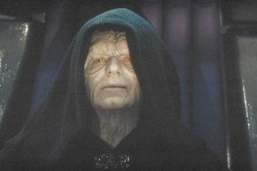 Kindly old Palpatine was the father Vader never had.