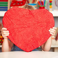 Help your kids make meaningful valentines with these simple projects.
