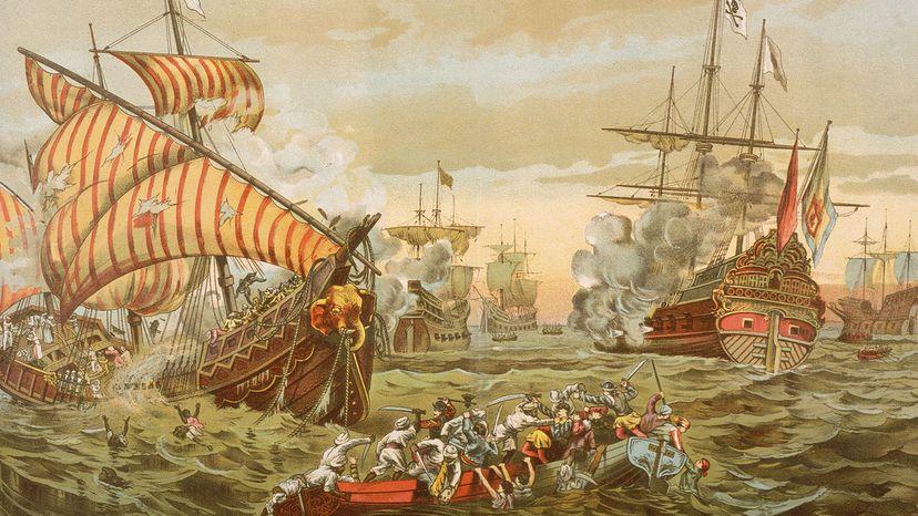 Vasco da Gama, descruction, sea voyage