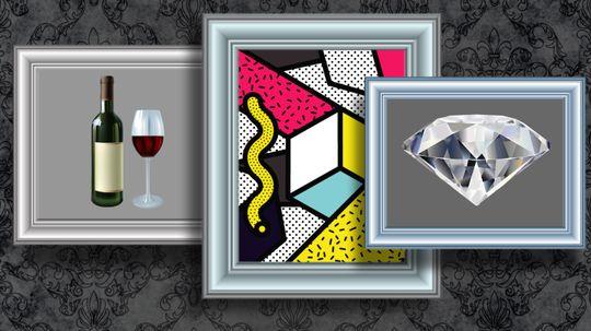 How Wine, Art and Diamonds Defy the Laws of Economics