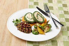 An all-vegan dinner menu can still be enticing and delicious.