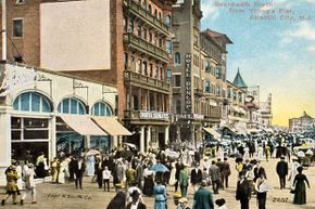 Atlantic City, with its boardwalk, entertainment and casinos, has been a popular travel destination for decades.