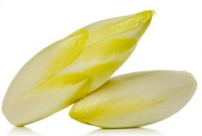 ©iStockphoto.com/arnowssr Endive can have curly leaves or broad flat ones.
