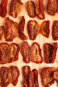 Many sun-dried tomatoes are not truly sun dried. See more pictures of vegetables.