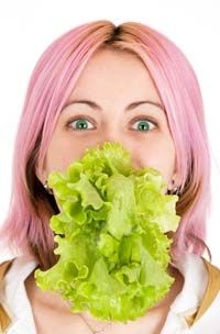 Vegetarians eat lots of leafy greens -- but where's the protein? See more pictures of vegetables.