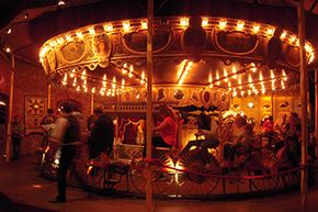 The velocipede carousel in Paris' Bercy neighborhood is one of just two left in the world.