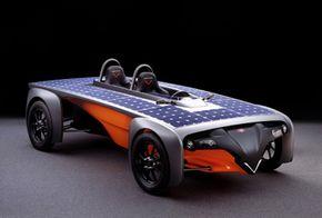 The innovative Venturi Astrolab concept explores zero-emissions commuting in a green future.