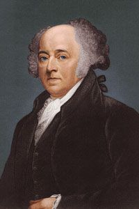 John Adams, the first of the bunch. See more pictures of American presidents.