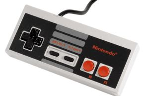 That old NES controller you have lying around can be repurposed in a hundred different ways. See pictures of video game systems.