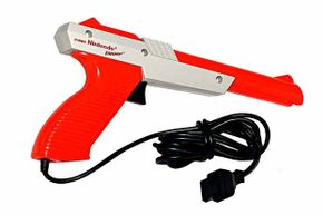This ubiquitous gun was part-and-parcel of the Nintendo Entertainment System's Duck Hunt game.