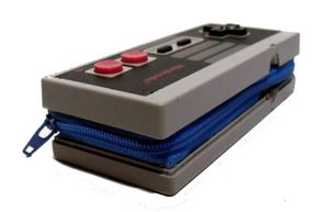 The versatile NES controller can also be transformed into a wallet.