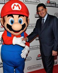 Adults love Mario, including Nintendo president Reggie Fils-Aime.