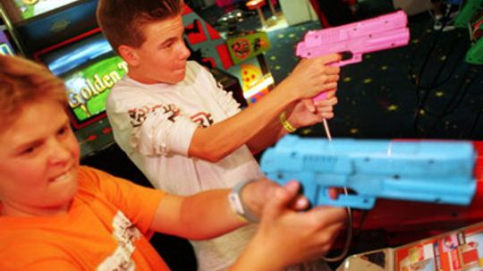 Do violent video games lead to real violence?