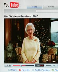 Video-sharing sites are so popular that even Britain's Queen Elizabeth II used the forum to post her Christmas message
