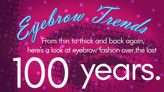 HowStuffWorks: Eyebrow trends over the last 100 years
