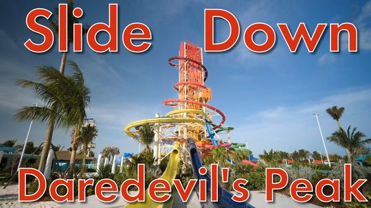Slide Down Daredevil's Peak