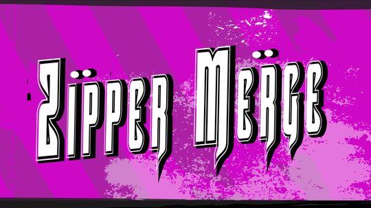 HowStuffWorks Illustrated: Zipper Merge